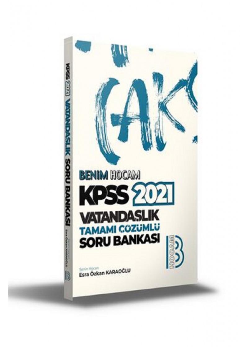 Yayınları 2021 KPSS Vatandaşlık Tamamı Çözümlü Soru Bankası