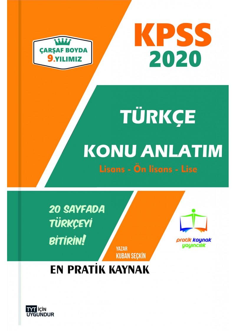 Süper Kpss Türkçe Notları