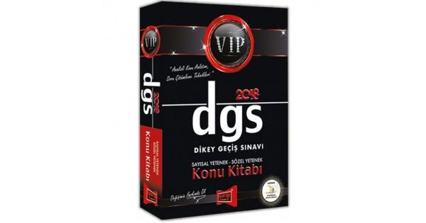 Yargı 2018 DGS VIP Sayısal Yetenek Sözel Yetenek Konu Kitabı