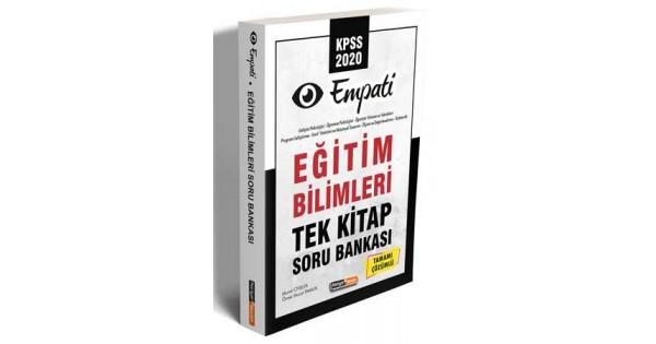 KPSS Eğitim Bilimleri Tek Kitap Soru Bankası Tamamı Çözümlü