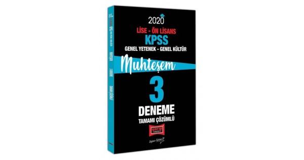 KPSS 2020 Genel Kültür&Genel Yetenek 3 Deneme